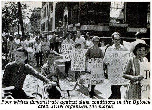 March against slums